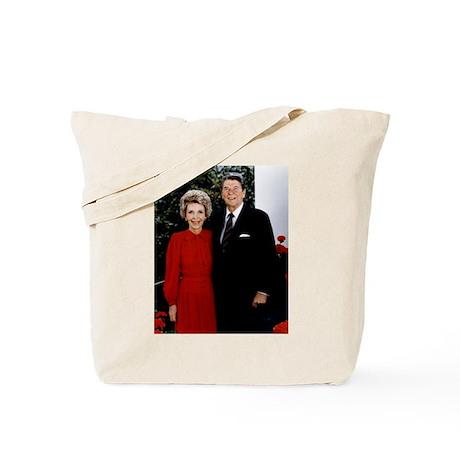 Ronnie and Nancy Tote Bag