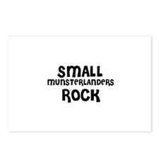 SMALL MUNSTERLANDERS ROCK Postcards (Package of 8)