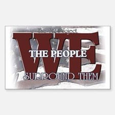 We Surround Them Rectangle Decal
