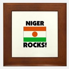 Niger Rocks Framed Tile