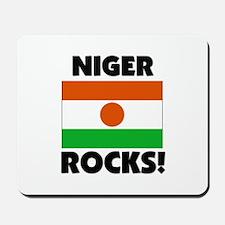 Niger Rocks Mousepad