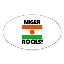 Niger Rocks Oval Decal