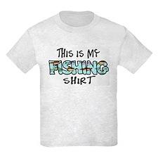 This Is My Fishing Shirt T-Shirt