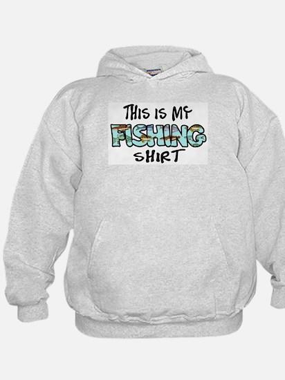 This Is My Fishing Shirt Hoodie