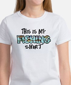 This Is My Fishing Shirt Tee