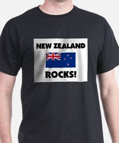 New Zealand Rocks T-Shirt