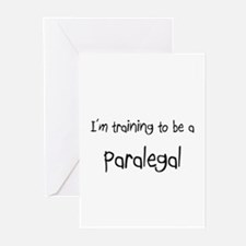 I'm training to be a Paralegal Greeting Cards (Pk