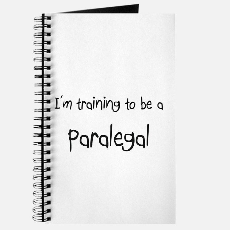 I'm training to be a Paralegal Journal