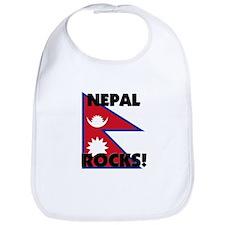 Nepal Rocks Bib