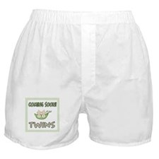 Coming Soon Twins Boxer Shorts