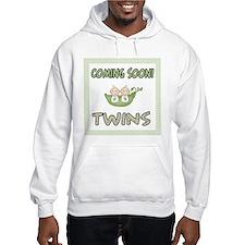 Coming Soon Twins Hoodie