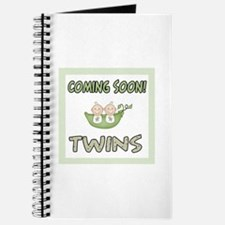 Coming Soon Twins Journal