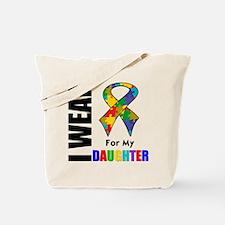 Autism Daughter Tote Bag