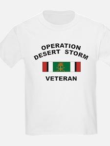 Kuwait Veteran 2 Kids T-Shirt
