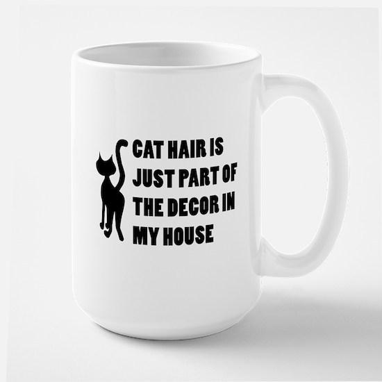 Funny Cat Lover Gift Large Mug