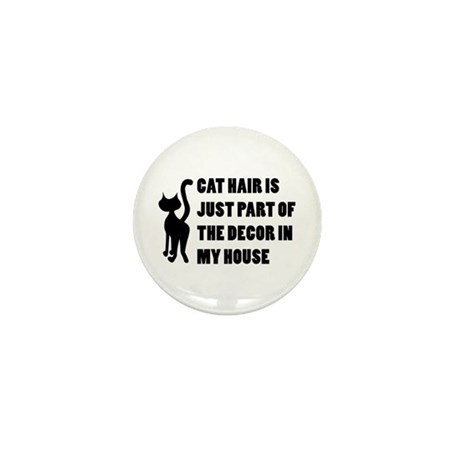 Funny Cat Lover Gift Mini Button (100 pack)