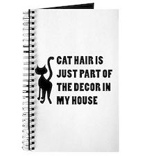Funny Cat Lover Gift Journal