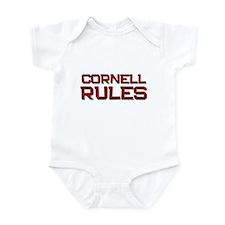 cornell rules Infant Bodysuit