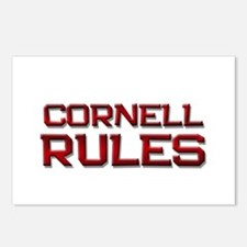 cornell rules Postcards (Package of 8)