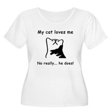 Sarcastic Cat Lover Gift T-Shirt
