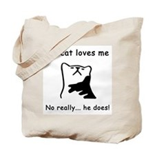 Sarcastic Cat Lover Gift Tote Bag
