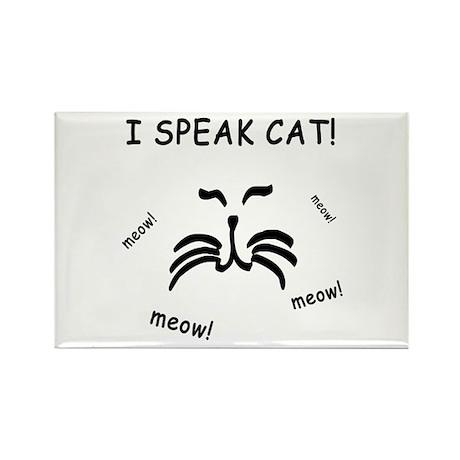 Funny Cat Lover Rectangle Magnet (100 pack)