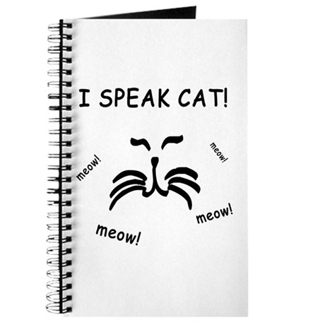 Funny Cat Lover Journal