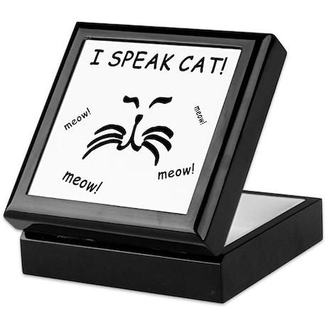 Funny Cat Lover Keepsake Box
