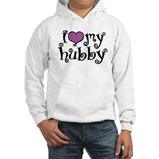 I Love My Hubby Hoodie