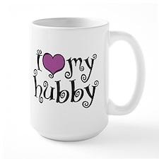 I Love My Hubby Mug