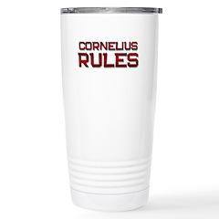 cornelius rules Stainless Steel Travel Mug