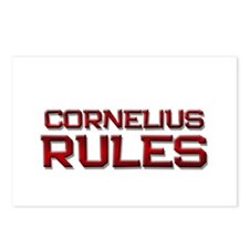 cornelius rules Postcards (Package of 8)