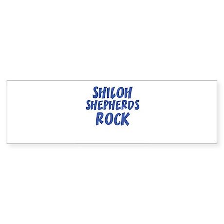 SHILOH SHEPHERDS ROCK Bumper Sticker
