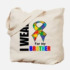 Autism Brother Tote Bag