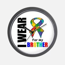 Autism Brother Wall Clock
