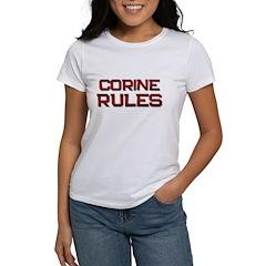 corine rules Tee
