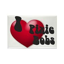 'I Love PixBobs!' Rectangle Magnet