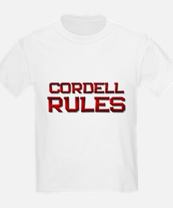 cordell rules T-Shirt