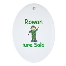 Rowan - The Soldier Oval Ornament