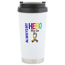 Autism Hero Son Travel Mug
