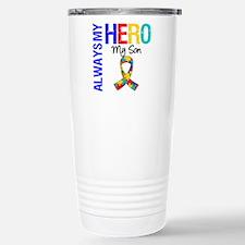Autism Hero Son Travel Mug