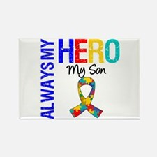 Autism Hero Son Rectangle Magnet