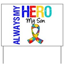 Autism Hero Son Yard Sign