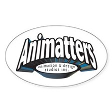 Animatters Oval Decal