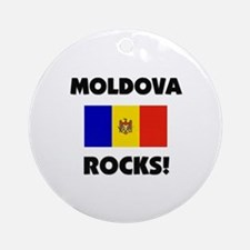 Moldova Rocks Ornament (Round)