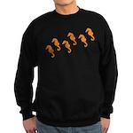 Seahorses Sweatshirt (dark)