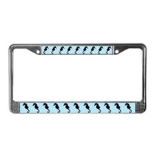 Seahorses License Plate Frame