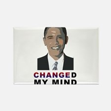 Changed My Mind about Obama Rectangle Magnet