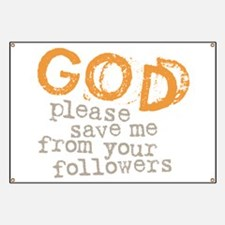 God Your Followers Banner