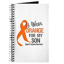 I Wear Orange For My Son Journal